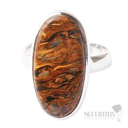 Pietersit prsten stříbro Ag 925 R537