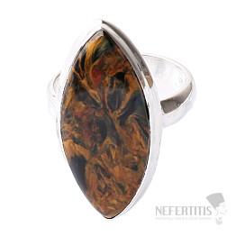 Pietersit prsten stříbro Ag 925 R550