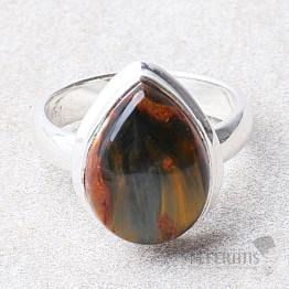 Pietersit prsten stříbro Ag 925 R646