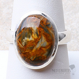 Pietersit prsten stříbro Ag 925 R660