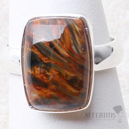 Pietersit prsten stříbro Ag 925 R664