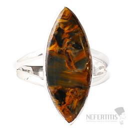 Pietersit prsten stříbro Ag 925 R514