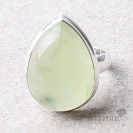 Prehnit prsten stříbro Ag 925 R720
