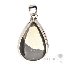 Pyrit v magnetitu přívěsek stříbro Ag 925 P322