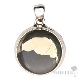 Pyrit v magnetitu přívěsek stříbro Ag 925 P332