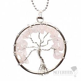 Růženín přívěsek Strom života s řetízkem