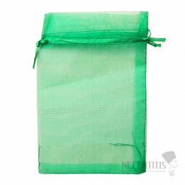 Dárkový sáček organza zelený