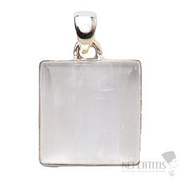 Selenit přívěsek stříbro Ag 925 P795