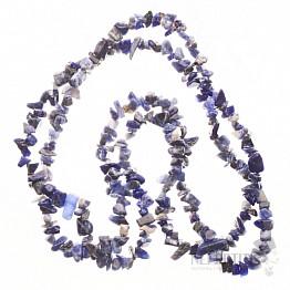 Sodalit náhrdelník sekaný