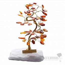 Stromeček štěstí jantar B0