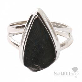 Šungit prsten stříbro Ag 925 R780