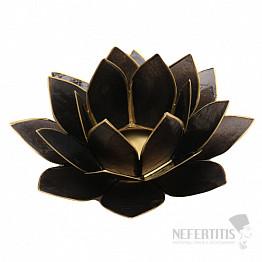Svícen lotos černý