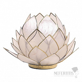 Svícen lotos perleťověbílý Extra
