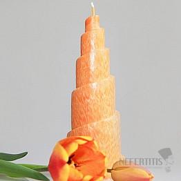 Svíčka pro 2. čakru spirála