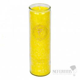 Svíčka pro 3. čakru s vůní bergamotu, citrónu a grapefruitu