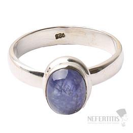 Tanzanit prsten stříbro Ag 925 R338
