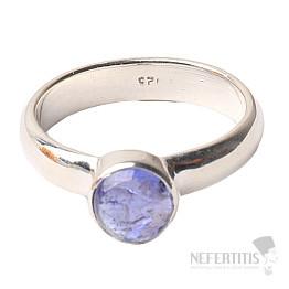 Tanzanit prsten stříbro Ag 925 R288