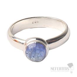 Tanzanit prsten stříbro Ag 925 R320