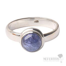 Tanzanit prsten stříbro Ag 925 R336