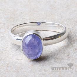 Tanzanit prsten stříbro Ag 925 R368
