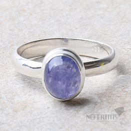 Tanzanit prsten stříbro Ag 925 R387