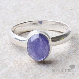 Tanzanit prsten stříbro Ag 925 R389