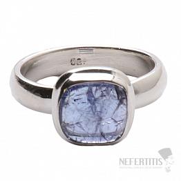 Tanzanit prsten stříbro Ag 925 R299