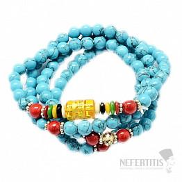 Tyrkys náhrdelník tibetský