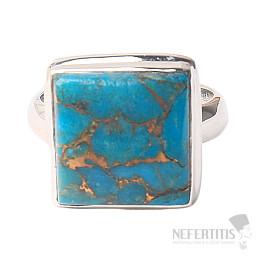 Tyrkys prsten stříbro Ag 925 R560
