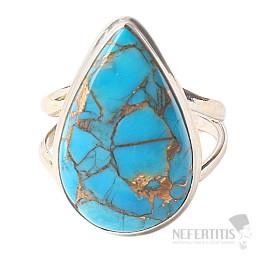 Tyrkys prsten stříbro Ag 925 R549