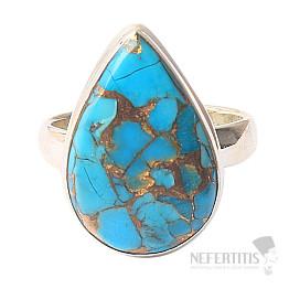Tyrkys prsten stříbro Ag 925 R565