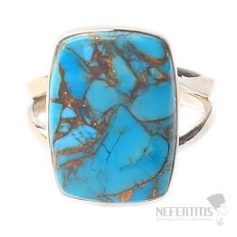 Tyrkys prsten stříbro Ag 925 R570
