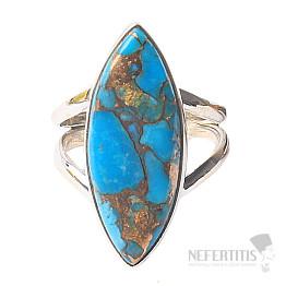 Tyrkys prsten stříbro Ag 925 R573