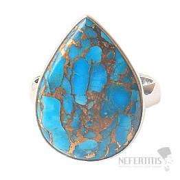 Tyrkys prsten stříbro Ag 925 R575