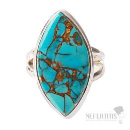 Tyrkys prsten stříbro Ag 925 R538