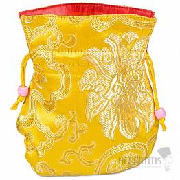 Brokátový sáček žlutý