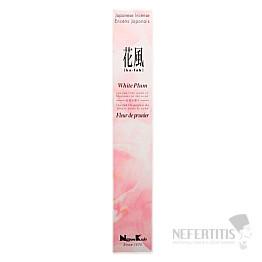 Vonné tyčinky Nippon Kodo white plum