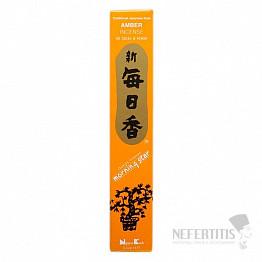 Vonné tyčinky Nippon Kodo Morning star amber