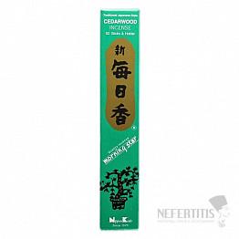Vonné tyčinky Nippon Kodo Morning star cedar wood