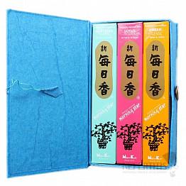 Vonné tyčinky Nippon Kodo Morning star dárková sada exotické vůně