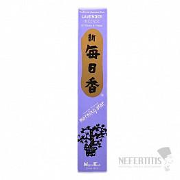 Vonné tyčinky Nippon Kodo Morning star lavender